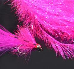 Flybox Medium Crystal Hackle 10mm