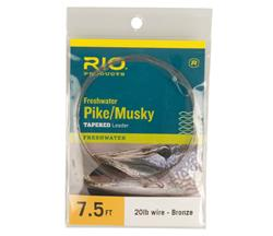 RIO PIKE/MUSKY II 7.5FT  WITH KNOTTABLE WIRE